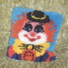 knoopkussen clown (excl. knoophaak)