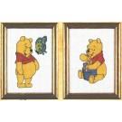 borduurpakket winnie de pooh met vlinder of honing