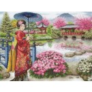 borduurpakket japanse tuin
