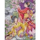 borduurpakket geisha's