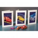 borduurpakket wenskaart (3 st.) cars, storm, mc queen en cruz