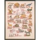 borduurpakket dieren a.b.c.
