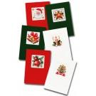 borduurpakket kerstkaart (6 st.)